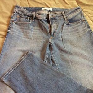 Loft jeans. Curvy straight. Size 6